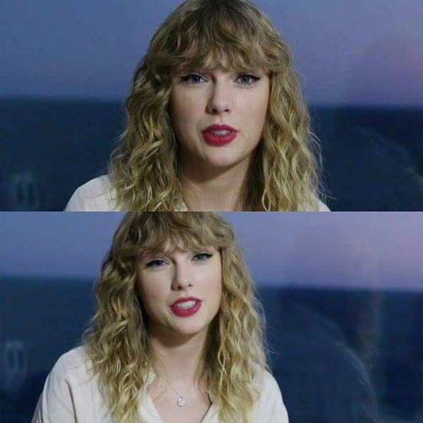 Taylor v krátkom videu na American Music Awards 2017