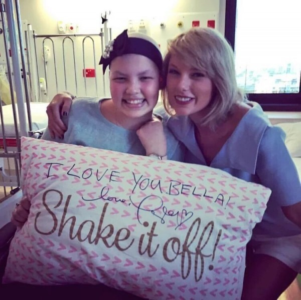 Taylor Swift navštívila detskú nemocnicu v Queenslande