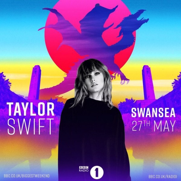 Taylor Swift vystúpi na britskom festivale