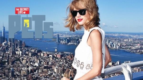 """Taylor a animák """"The Secret Life Of Pets"""""""
