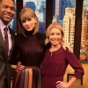 Taylor sa objaví v talk show Live with Kelly and Michael